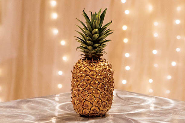 Photo of a pineapple