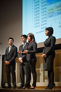 Group presenting at the 2015 HBPC
