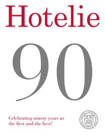 Hotelie magazine, spring 2012 issue cover