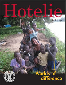 Hotelie magazine, fall 2009 issue cover