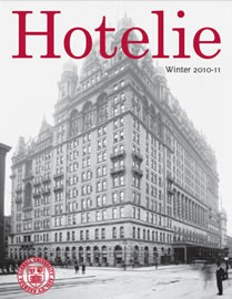 Hotelie magazine, winter 2010-2011 issue cover