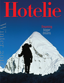 Winter 2014 Hotelie Magazine Cover