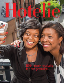 Hotelie magazine, summer 2014 issue cover