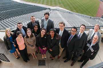 HLDP Fellows visit Coors Field in Denver, CO