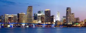 Picture of Miami skyline