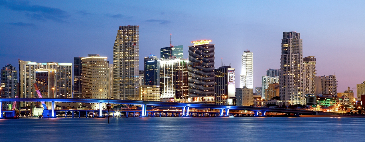 Picture of Miami skyline
