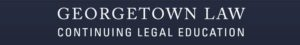 Georgetown law banner