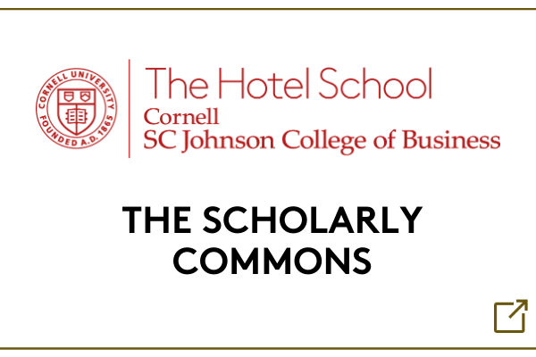 Hotel School Scholarly Commons