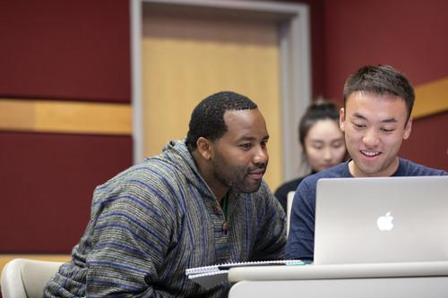 Cornell SHA Hospitality management students studying
