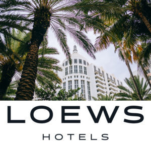 The Loews Miami Hotel and Logo