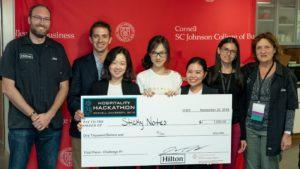 1st place winners- Paulina Endara, Stefan Hench, Yi Huang, Kana Suda, Frances Wang