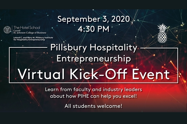 Advertisement slide for virtual Kick-Off event