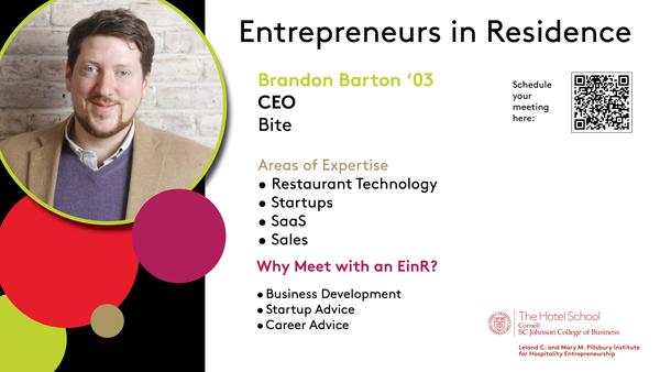 Brandon Barton EiR