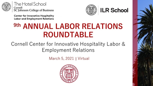 Info graphic for 9th Annual Labor Relations Roundtable