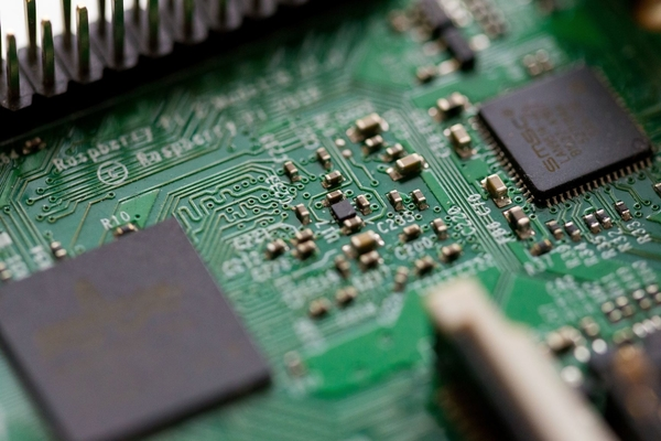 Image of a motherboard for marketing fintech