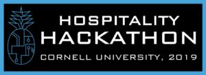 Hospitality Hackathon logo for 2019