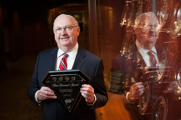 Rick Adie honored for his work