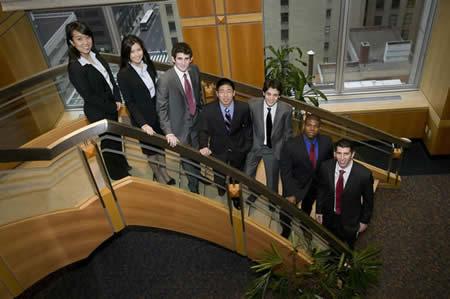From Left: Amy Shyr, Taylor Quan, Andrew Gindy, Li Zhang, Zied Sanhaji, Christopher Marshall, Josh Barvin.