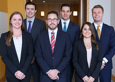 The team from Villanova University was named the winner in the fifth annual Cornell International Real Estate Case Competition