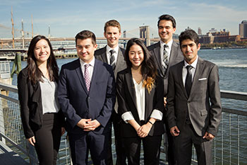 The team from the University of British Columbia was named the winner in the sixth annual Cornell International Real Estate Case Competition.