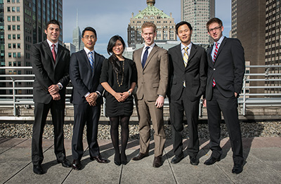 The student team from the University of Pennsylvania (Wharton) has won the fourth annual Cornell International Real Estate Case Competition