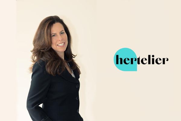 Emily Goldfischer and Hertelier logo