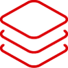 red stack icon