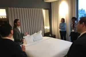 Hospitality career trek to New York City